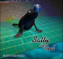Salty the Seal - Final Render by nickowolf
