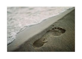 Footprint no.1 by allanamnvarupptagna