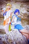 Venus and Mercury : ready to fight! by LoveSenshi