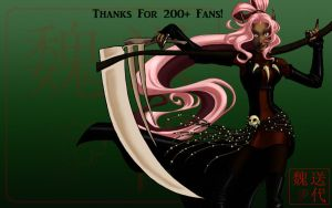 Thanks for 200+ Fans by Nytrinhia