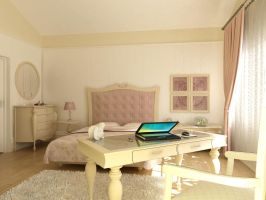 Lila Bedroom 3 by Murataral