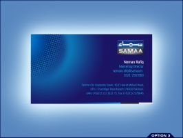 Samaa Business Card 3 by aliather