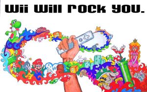 Wii Will Rock You by DreamsOfDownfall