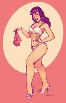 Be Bettie Page by EddieHolly