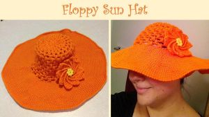 Floppy Sun Hat by adagiobreezes