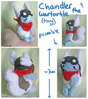 Micro Chandler plush-- for xsystem by SilkenCat