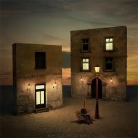 Night on earth by Alshain4