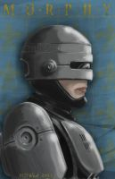 Battle Artist RoboCop by mothbot