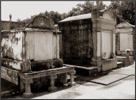 Lafayette Cemetery Tombs by SalemCat
