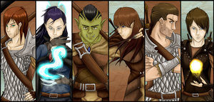 Dungeons and Dragons - Comrades by 5-Tails