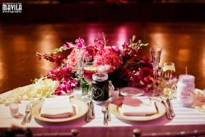 Ari and Laura Wedding Table for Two by MavilaPhotography