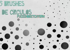 5 Brushes de circulos by FuckingBitchYeah