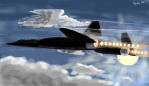 SR-71 by fighterace2688