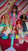 Mermaid doll collection 1 by Selinelle