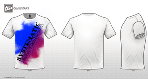 Systematic Vaporization Colour Explosion Tee by DatRets
