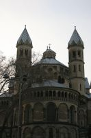 view to church in cologne by ingeline-art