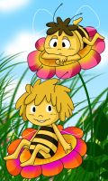 Maya The Bee by YukiMiyasawa