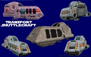 Shuttlecraft Tearsheet by jpapasso