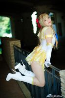 Sailor Venus Playful by HollyGloha