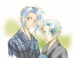 Shishi and Touya by ShikonJewel14