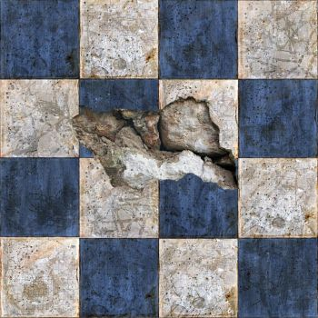 Broken Tiles Seamless Texture by SpiralGraphic