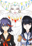 KILL LA KILL by guto-strife-1