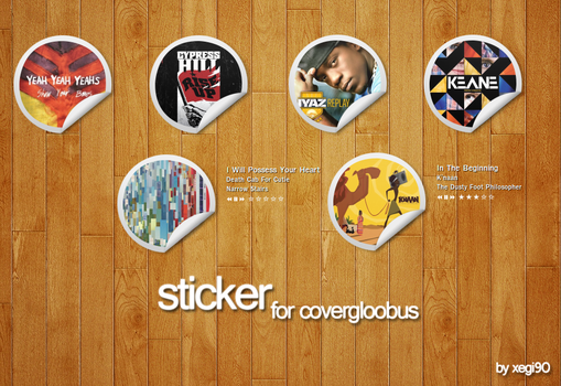 Sticker for CoverGloobus by xegi90
