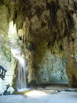 Waterfall III by senzostock