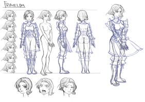 CharacterStudy: Frimelda (FinalFantasy Tactics A2) by LZbrothers