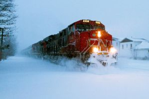 Canadian National by LeeUmass