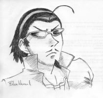 School Rumble - Harima by Blood-Hound