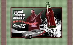 GTA IV Coca-Cola - Wallpaper by iFab