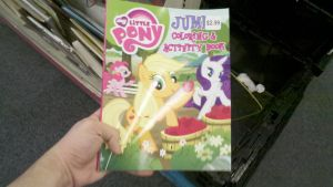 My little findings- MLP Coloring book by BigDream64