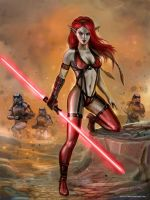 Red Force by SirTiefling