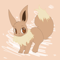 Eevee by LiahMew