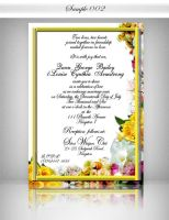 ::: Wedding INV Sample 2 ::: by Gallistero