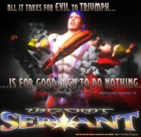 Servant: All it takes for Evil to win... by giumabei