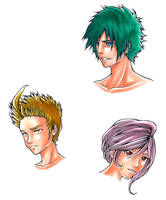 Characters_Copic_2 by kurisart