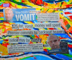 Vomit in the News by KeswickPinhead