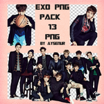 EXO PNG Pack by exostangalaxy