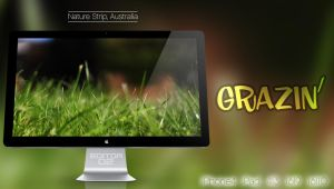 Grazin' - Wallpaper by GavinAsh