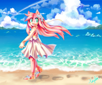 Beach Rose by XinYiLx
