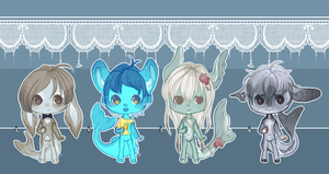Bloop Sharks 2 [4 Shades of Blue Ed.] .:Closed:. by Pieology