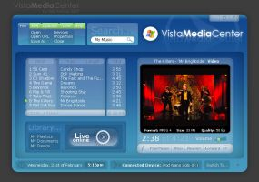Vista Media Player by X-posed