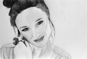 Teen Wolf's Crystal Reed -Allison by Shadowhunter97