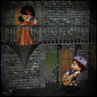 Romeo and Juliet Rr by mininessie66
