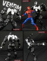 Custom First Apperance Venom Figure by Jin-Saotome