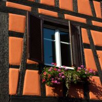 Orange Half-timbered by DeviantTeddine