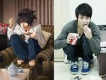 Yoseob and death note by yulitza25