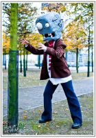 Popcap Zombie by gaming-goddess